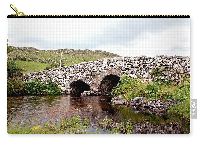 John Wayne Carry-all Pouch featuring the photograph The Quiet Man Bridge by Charlie and Norma Brock