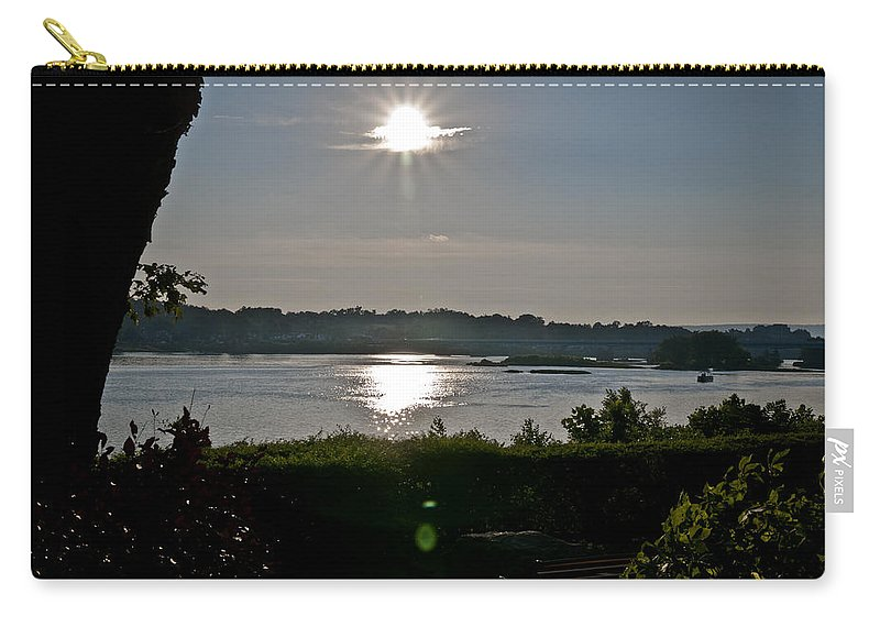 City Carry-all Pouch featuring the photograph The Quiet Of The Night by Deborah Klubertanz
