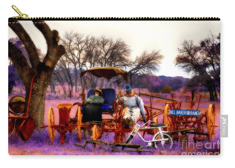 Ranch Carry-all Pouch featuring the photograph The Ranch by Douglas Barnard