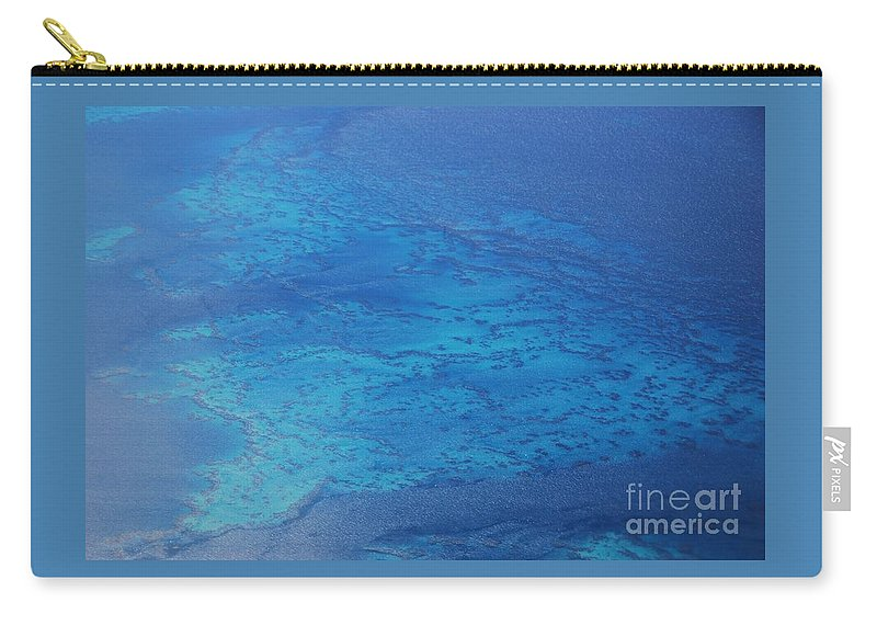 Aerial Art Surreal Travel Stock Shot Water Ocean Atlantic Serene Outdoors Calming Bermuda Reefs Turquoise Water Coral Islands Serenity Feng Shui Depth Natural Beauty Stunning Sea Scape Color Blue Metal Frame Recommended Canvas Print Poster Print Available On Greeting Cards Tote Bags Shower Curtains Mugs T Shirts Phone Cases Throw Pillows Duvet Covers Pouches Weekender Tote Bags And Mugs Carry-all Pouch featuring the photograph The Reefs Bermuda # 1 by Marcus Dagan