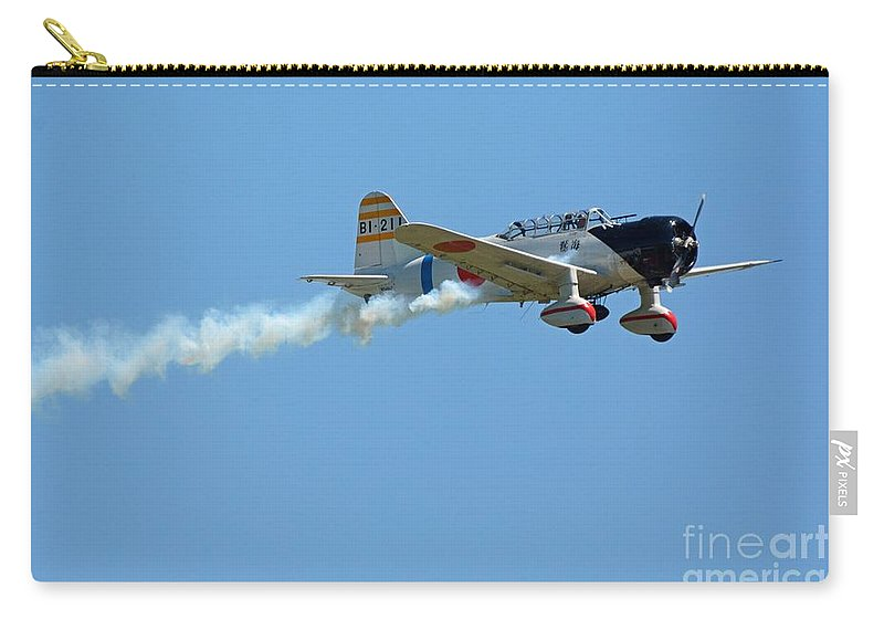 Airplanes Carry-all Pouch featuring the photograph The Rising Sun by Cindy Manero
