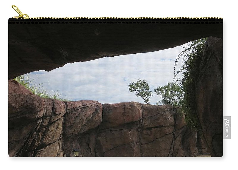 Landscape Carry-all Pouch featuring the photograph The Rocky Angle by Sonali Gangane