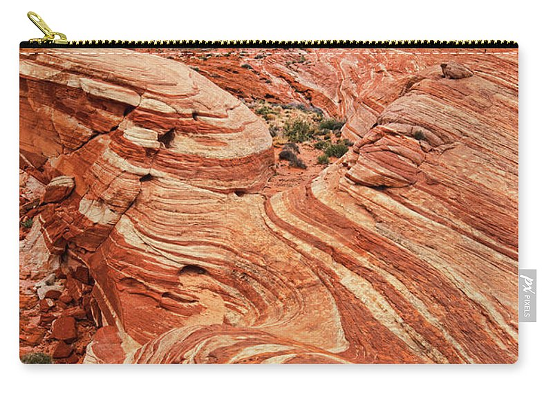 Scenics Carry-all Pouch featuring the photograph The Sand Crawler by Lee Sie Photography
