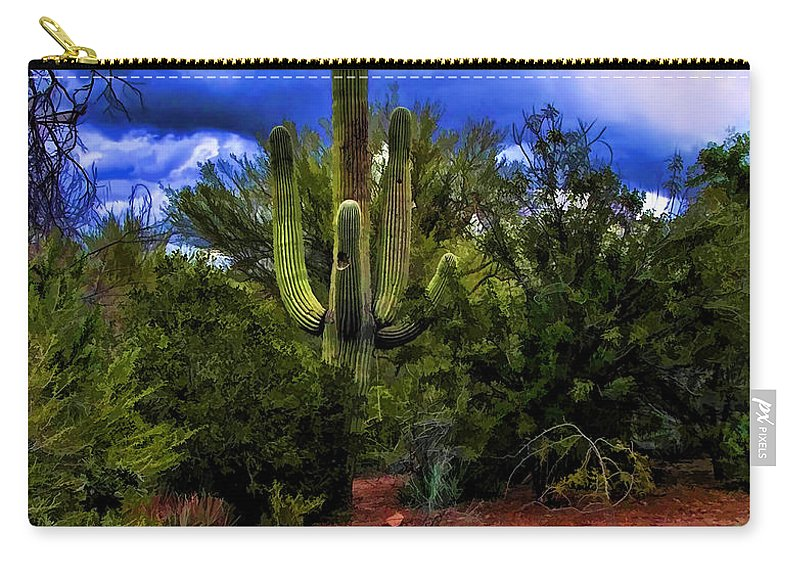 Jon Burch Photography Carry-all Pouch featuring the photograph The Sentinel by Jon Burch Photography