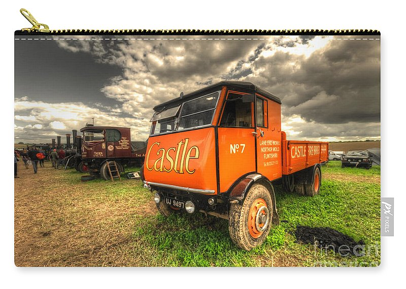 Sentinel Carry-all Pouch featuring the photograph The Sentinel Wagon by Rob Hawkins