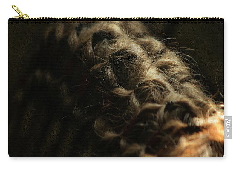 Horse Carry-all Pouch featuring the photograph The Shape by Angel Ciesniarska
