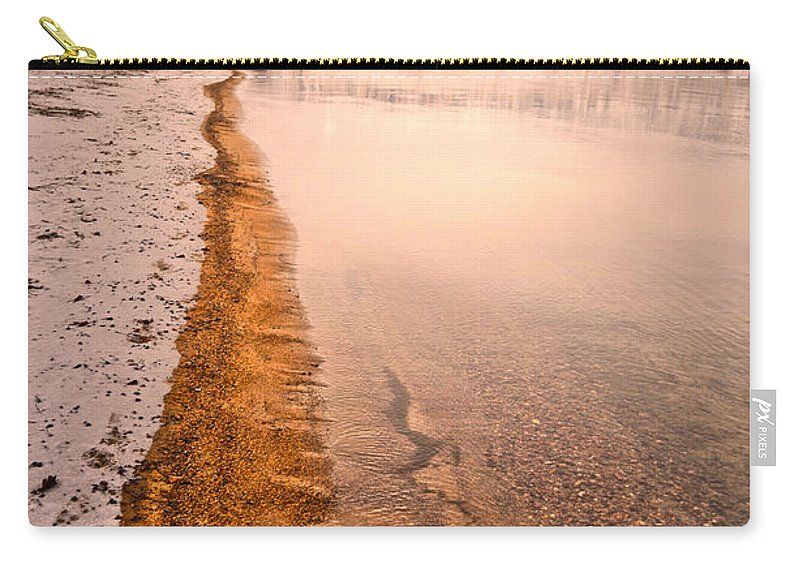 Winter Carry-all Pouch featuring the photograph The Shore In Winter by Tara Turner