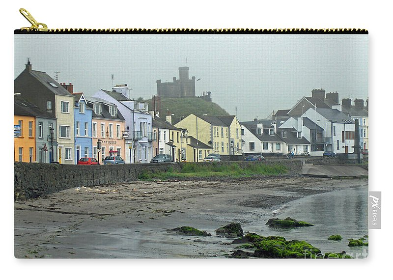 Village Carry-all Pouch featuring the photograph The Shores Of Ireland by Brenda Brown