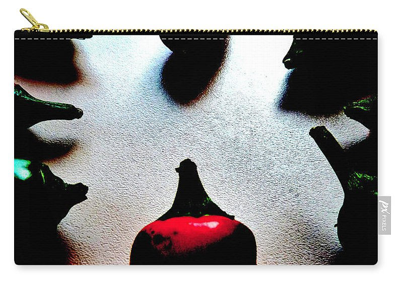 Spice Carry-all Pouch featuring the photograph The Showdown by Steve Taylor