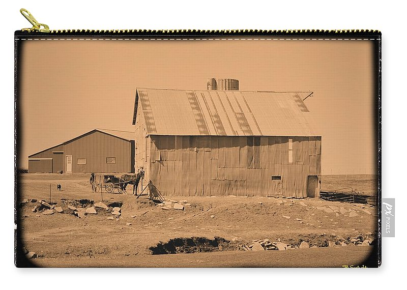 Amish Carry-all Pouch featuring the photograph The Simple Life by Bonfire Photography