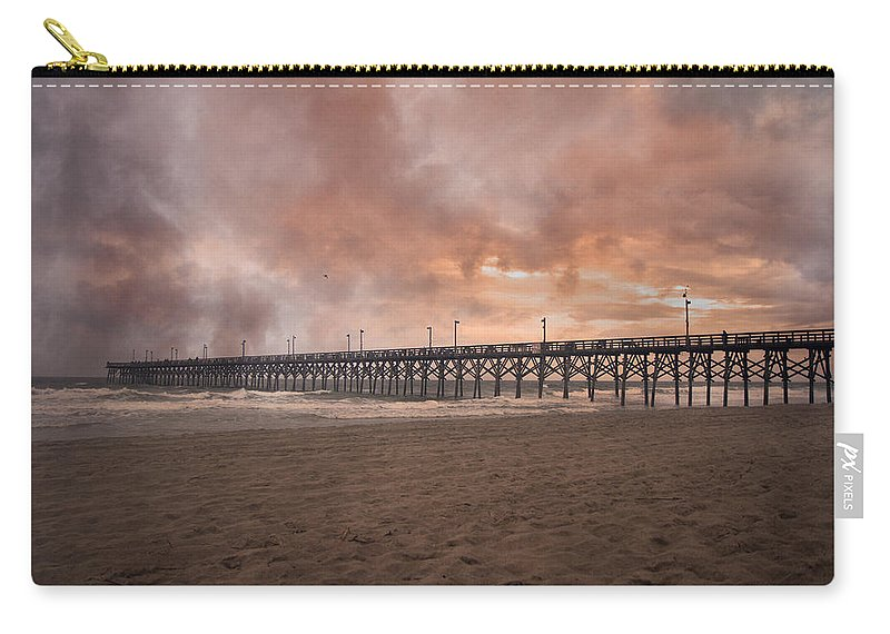 Topsail Carry-all Pouch featuring the photograph The Simple Purity Of Living by Betsy Knapp