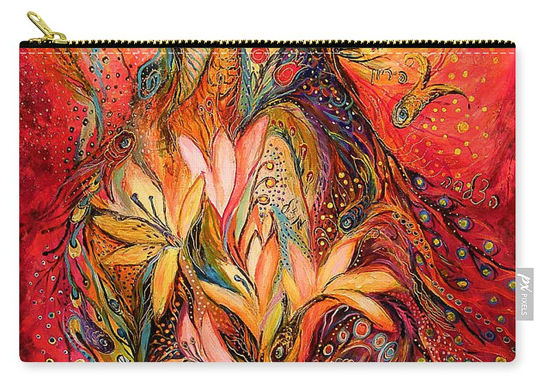 Original Carry-all Pouch featuring the painting The Sirocco by Elena Kotliarker