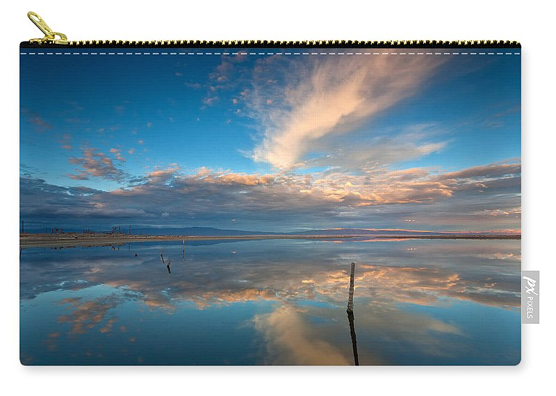 Big Sky Carry-all Pouch featuring the photograph The Sky Whispered by Peter Tellone