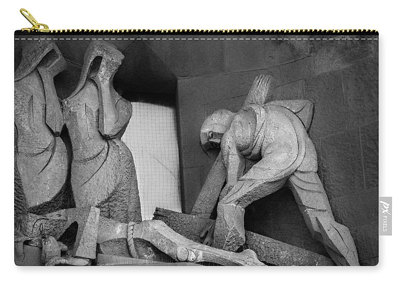 Apostole Carry-all Pouch featuring the photograph The Story IIi by Sotiris Filippou