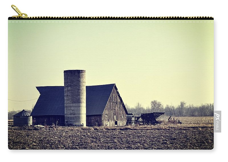 Barn Carry-all Pouch featuring the photograph The Story by Image Takers Photography LLC