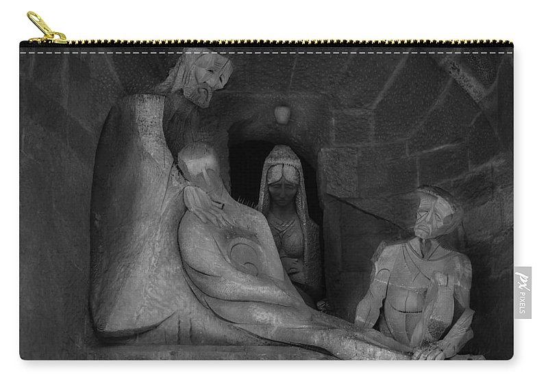 Apostole Carry-all Pouch featuring the photograph The Story Iv by Sotiris Filippou