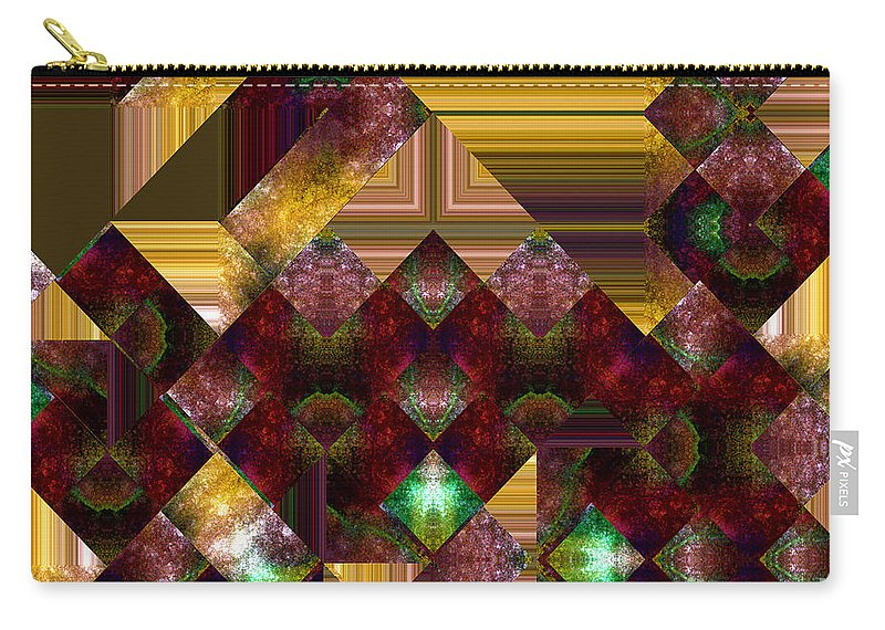 Abstract Carry-all Pouch featuring the painting The Sublimation Of Desire by RC DeWinter