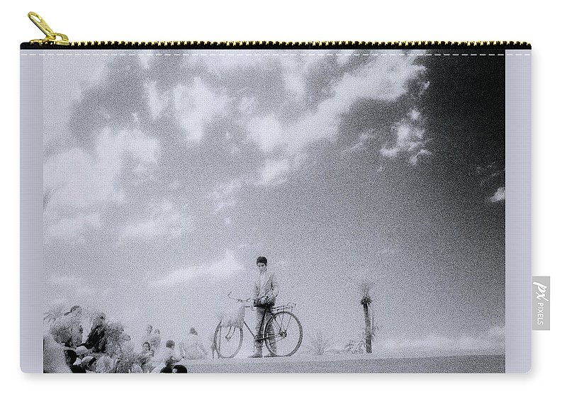 Surreal Carry-all Pouch featuring the photograph A Surreal Day by Shaun Higson
