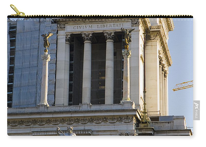 Travel Carry-all Pouch featuring the photograph The Tomb Of The Unknown Soldier by Jason O Watson