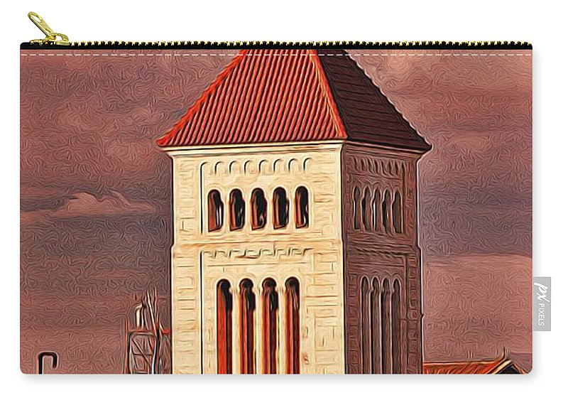 Tower Carry-all Pouch featuring the photograph The Tower by Bill Howard