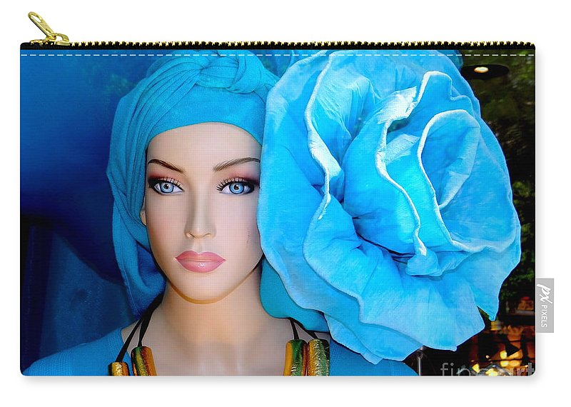 Mannequins Carry-all Pouch featuring the photograph The Trendsetter by Ed Weidman