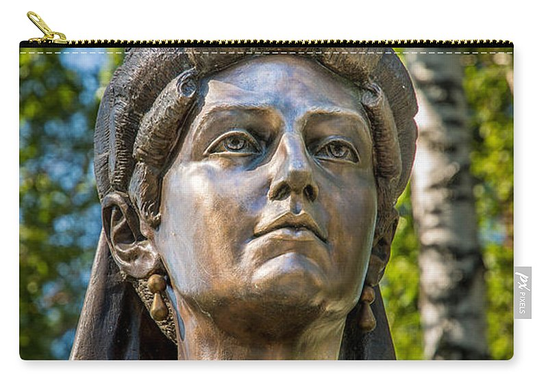 Tsaritsa Carry-all Pouch featuring the photograph The Tsaritsa by Andrew Matwijec