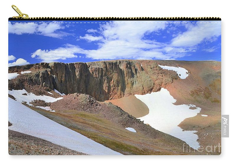 Tundra Carry-all Pouch featuring the photograph The Tundra by Kathleen Struckle