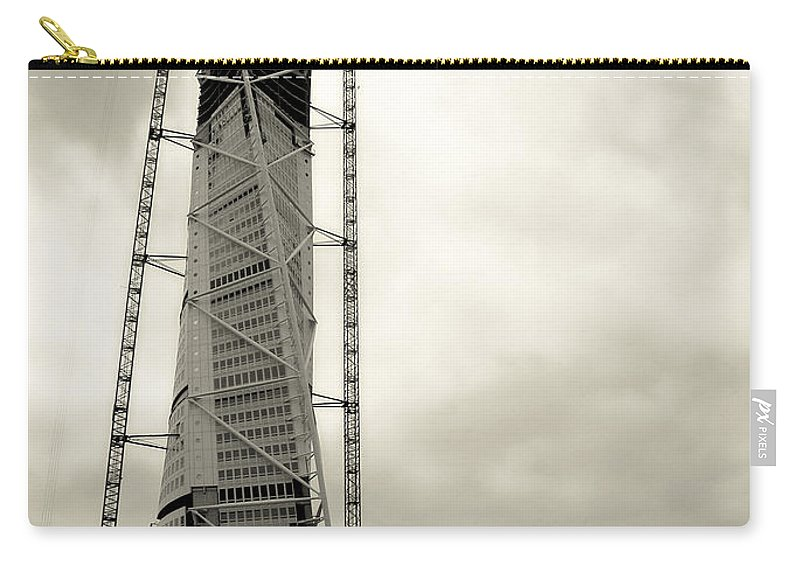 Turning Torso Carry-all Pouch featuring the photograph The Turning Torso by Jessica Velasco