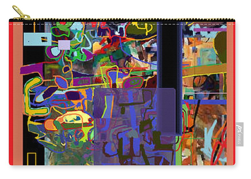 Torah Carry-all Pouch featuring the digital art The Tzaddik Lives On Emunah 10 by David Baruch Wolk