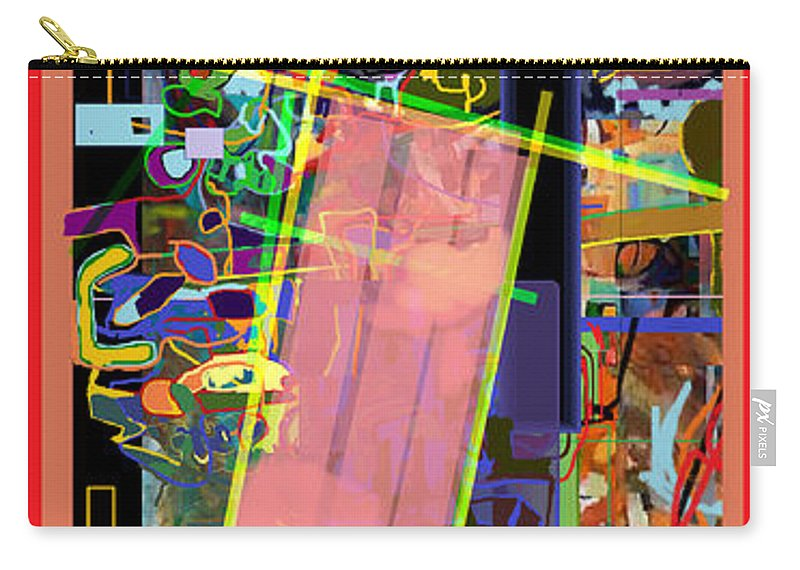Torah Carry-all Pouch featuring the digital art The Tzaddik Lives On Emunah 11 by David Baruch Wolk
