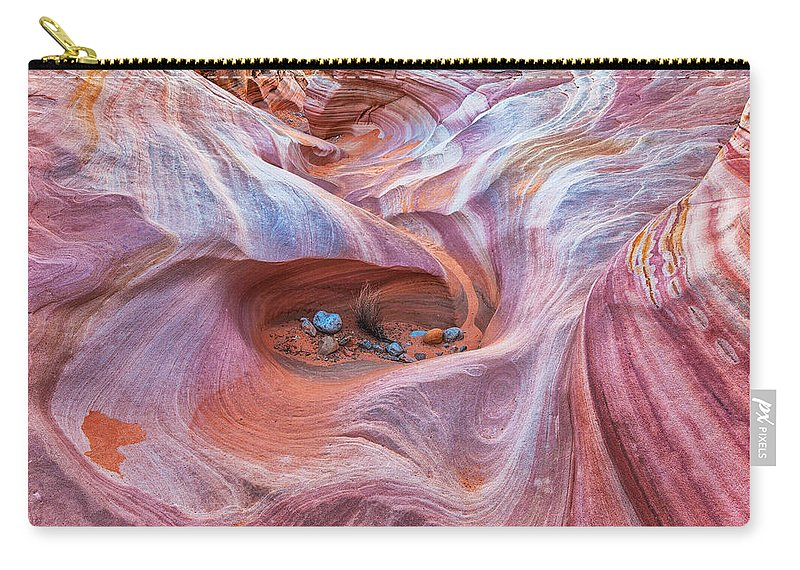 Land Carry-all Pouch featuring the photograph The Valley Eye by Darren White