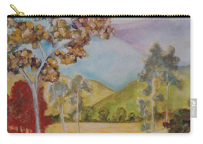 Valley Carry-all Pouch featuring the painting The Valley by Lord Frederick Lyle Morris - Disabled Veteran