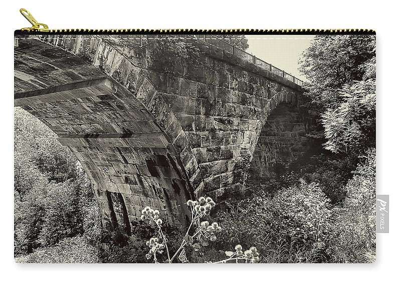 Arch Carry-all Pouch featuring the photograph The Viaduct by Jack R Perry