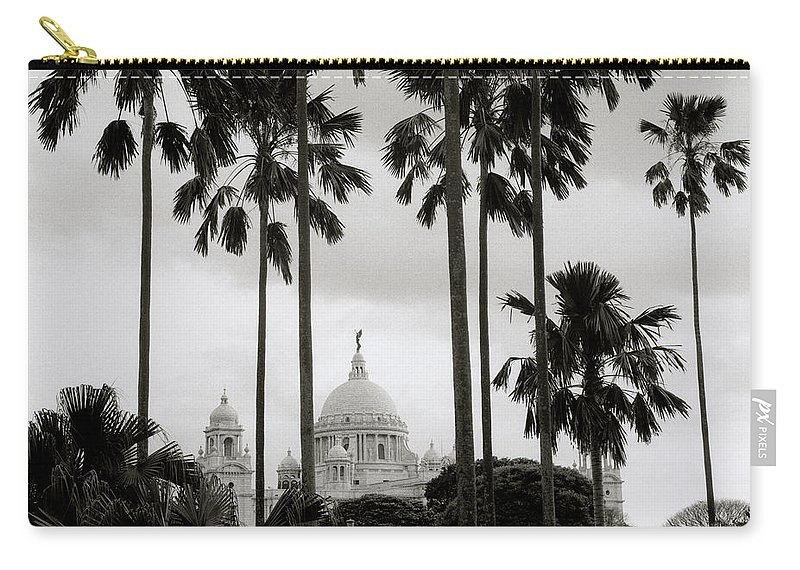 Serenity Carry-all Pouch featuring the photograph Victorian Calcutta by Shaun Higson
