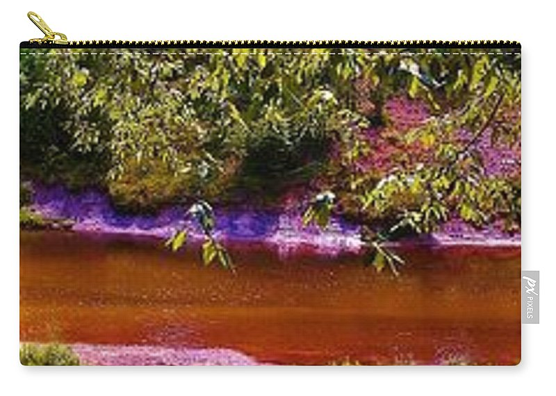 Rifle River Carry-all Pouch featuring the photograph The View From Heaven On Earth by Daniel Thompson