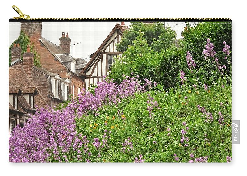 Quaint Carry-all Pouch featuring the photograph The Village by Mary Ellen Mueller Legault