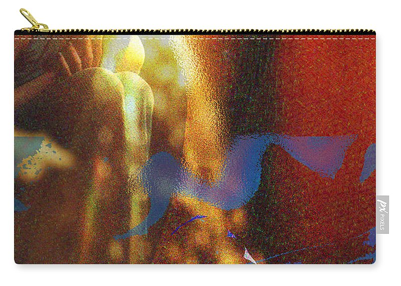 Vision Carry-all Pouch featuring the digital art The Vision by Seth Weaver