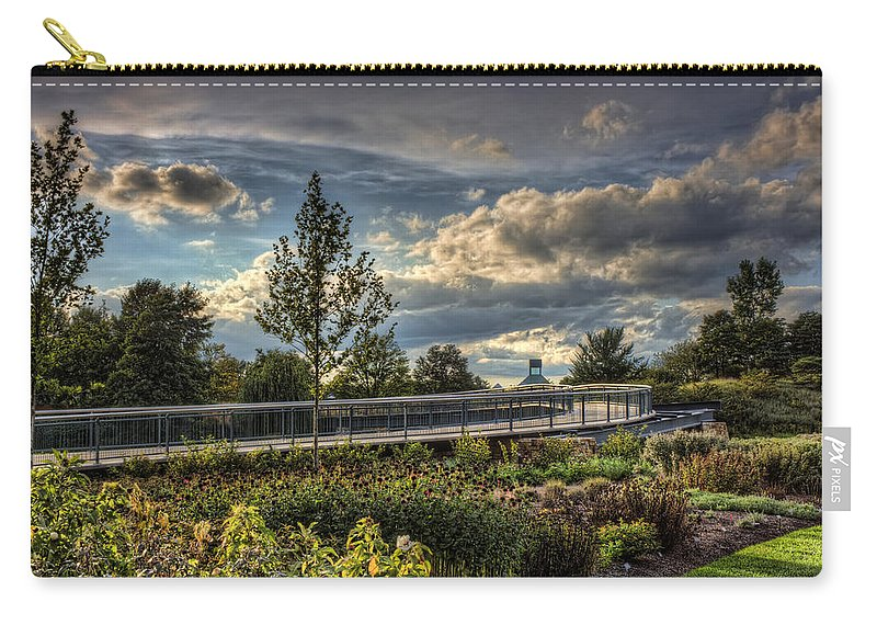 Landscape Carry-all Pouch featuring the photograph The Walking Path by Scott Wood