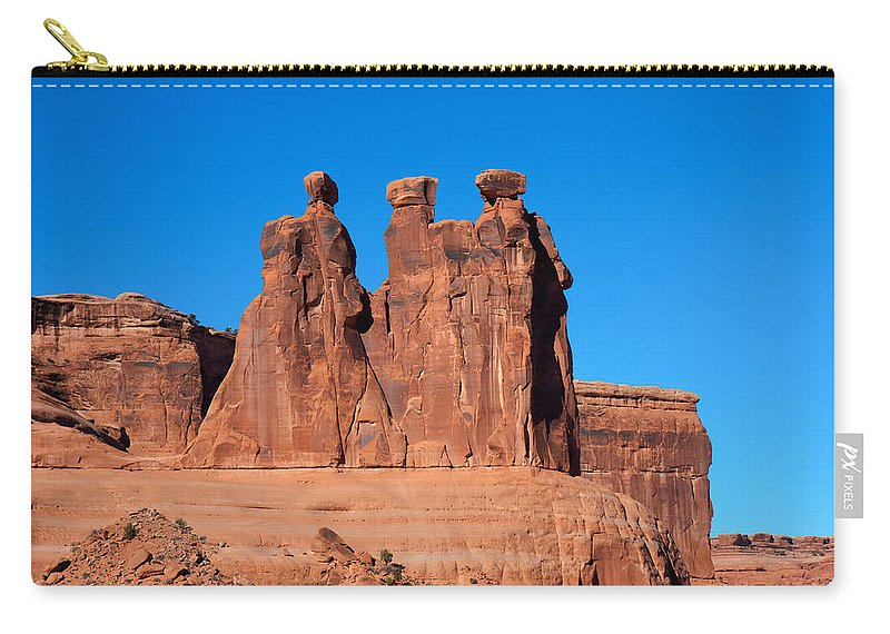 National Carry-all Pouch featuring the photograph The Watchers by John M Bailey