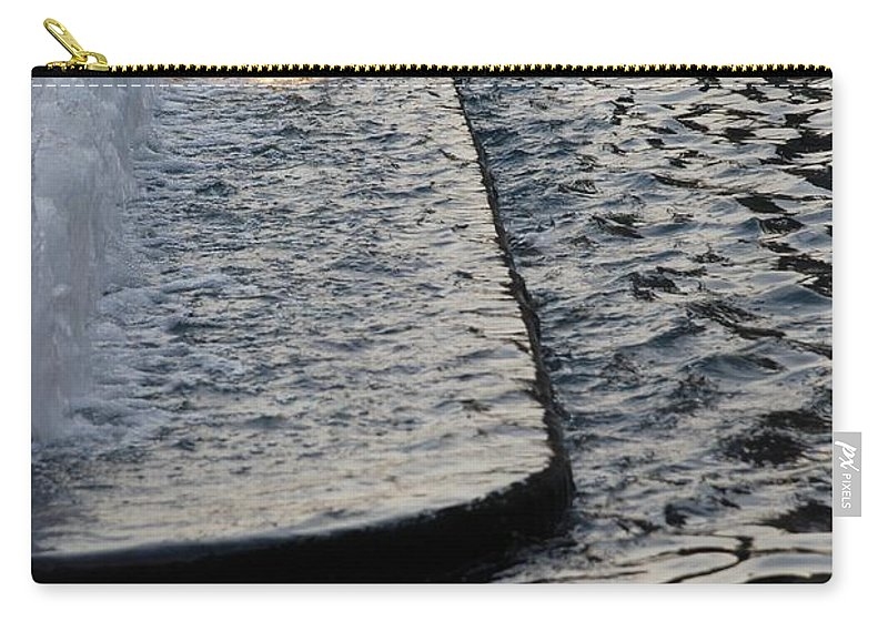 Scenic Carry-all Pouch featuring the photograph The Water Fountain by Rob Hans