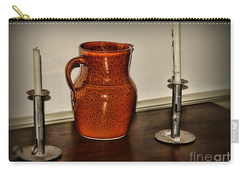 Paul Ward Carry-all Pouch featuring the photograph The Water Pitcher by Paul Ward