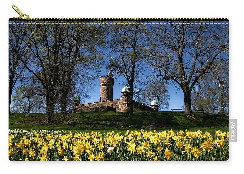 Borås Carry-all Pouch featuring the photograph The Water Tower by Jessica Velasco