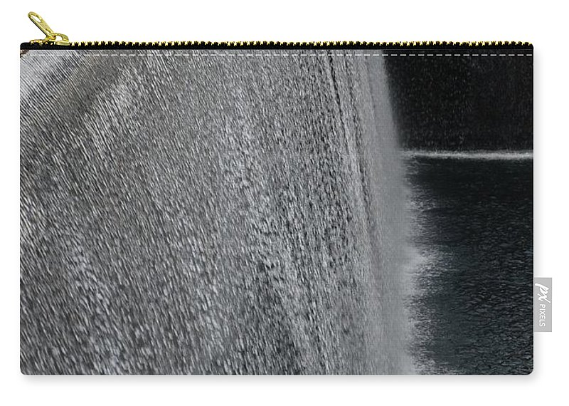 Wtc Carry-all Pouch featuring the photograph The Waterfall by Rob Hans
