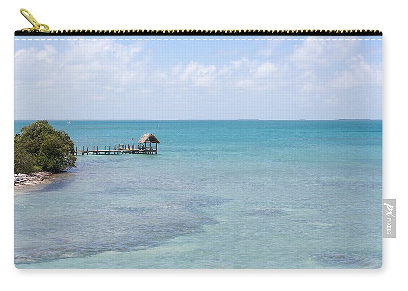 Beauty Carry-all Pouch featuring the photograph The Waters Of Pigeon Key by John M Bailey