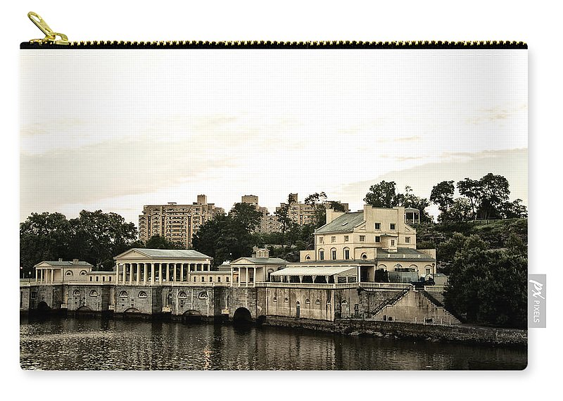 Waterworks Carry-all Pouch featuring the photograph The Waterworks by Bill Cannon