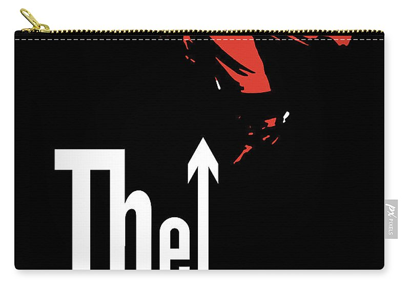 The Who Carry-all Pouch featuring the digital art The Who No.01 by Geek N Rock
