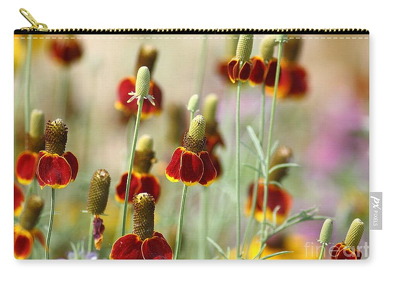 Flora Carry-all Pouch featuring the photograph The Wildest Of Flowers by Robert Frederick