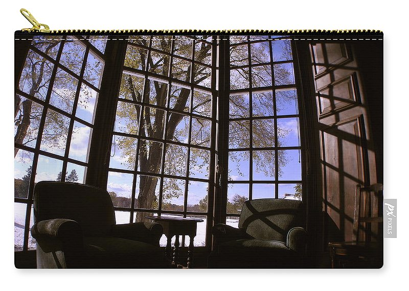 Groton School Carry-all Pouch featuring the photograph The Window Seat by Marysue Ryan