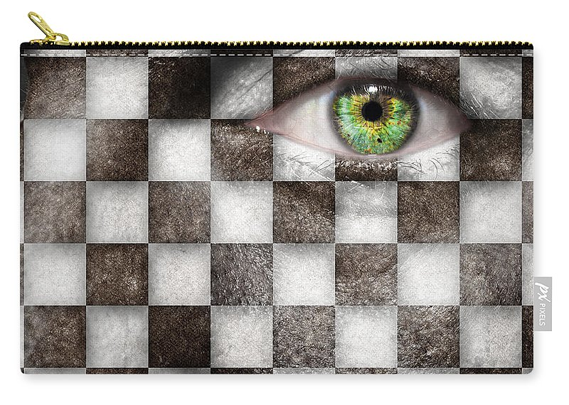 Abstract Carry-all Pouch featuring the photograph The Winner by Semmick Photo
