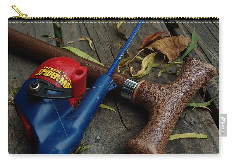 Angling Carry-all Pouch featuring the photograph The X Men by Peter Piatt